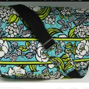 Vera Bradley Island Blooms Messenger Bag